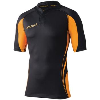 Abbigliamento Uomo T-shirt maniche corte Kooga KG105 Nero/Oro