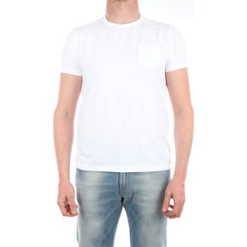 Abbigliamento Uomo T-shirt maniche corte Save The Duck DT0022M-GLOW1 Manica Corta Uomo White White