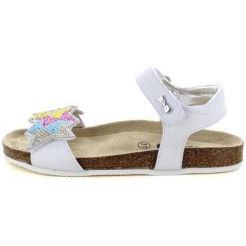 Scarpe Bambina Sandali Asso 55661 WHITE