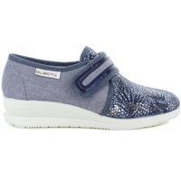 Scarpe Donna Pantofole Electa 55722 BLU