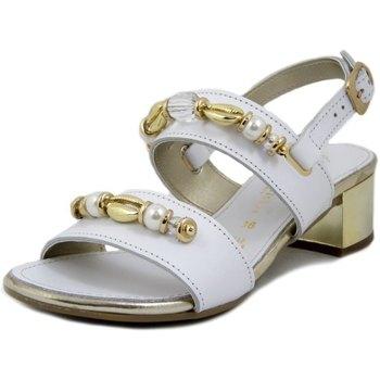 Scarpe Donna Sandali Prativerdi Sandalo bianco