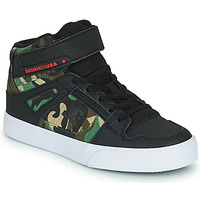 Scarpe Bambino Sneakers alte DC Shoes PURE HIGH-TOP EV Nero / Camouflage