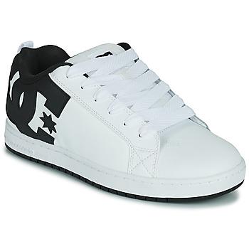 Scarpe Uomo Scarpe da Skate DC Shoes COURT GRAFFIK Bianco / Nero