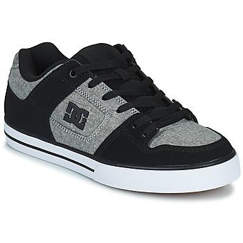 Scarpe Uomo Scarpe da Skate DC Shoes PURE Grigio / Nero