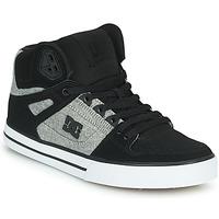 Scarpe Uomo Sneakers alte DC Shoes PURE HIGH-TOP WC Nero / Grigio