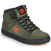 Scarpe Uomo Sneakers alte DC Shoes PURE HIGH-TOP WC WNT Kaki / Nero