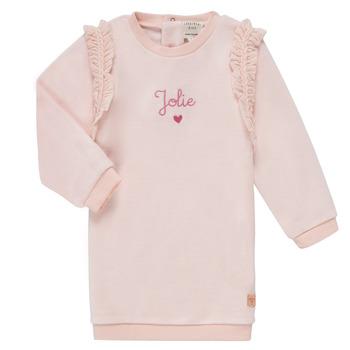 Abbigliamento Bambina Abiti corti Carrément Beau ABRICOT Rosa