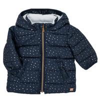 Abbigliamento Bambina Piumini Carrément Beau AIGUE-MARINE Marine