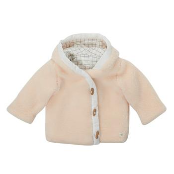 Abbigliamento Bambino Cappotti Carrément Beau AMARANTE Bianco