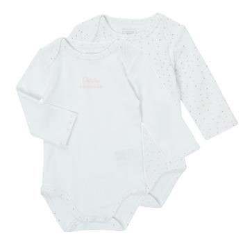 Abbigliamento Bambina Pigiami / camicie da notte Carrément Beau ANTHRACITE Bianco