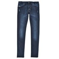 Abbigliamento Bambino Jeans skynny Diesel SLEENKER Blu / Scuro