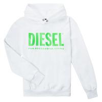 Abbigliamento Unisex bambino Felpe Diesel SDIVISION LOGOX OVER Bianco