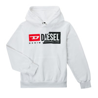 Abbigliamento Unisex bambino Felpe Diesel SGIRKHOODCUTYX OVER Bianco