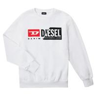 Abbigliamento Unisex bambino Felpe Diesel SGIRKCUTY OVER Bianco