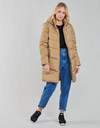 Abbigliamento Donna Cappotti Vila VIADAYA Camel