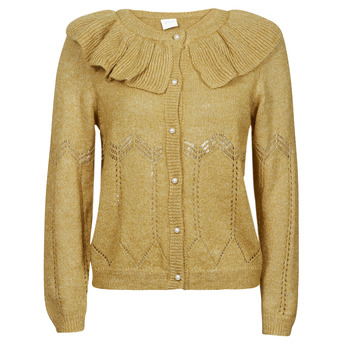 Abbigliamento Donna Gilet / Cardigan Vila VICHRISSY Kaki