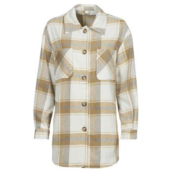Abbigliamento Donna Giacche / Blazer Vila VIKIMMI Bianco / Beige