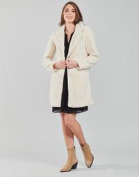 Abbigliamento Donna Cappotti Vila VILIOSI Ecru