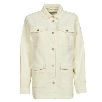 Abbigliamento Donna Giacche / Blazer Vila VIOTAS Ecru