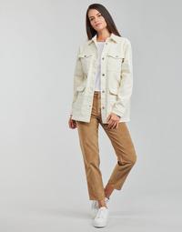Abbigliamento Donna Jeans dritti Vila VIOTAS Marrone