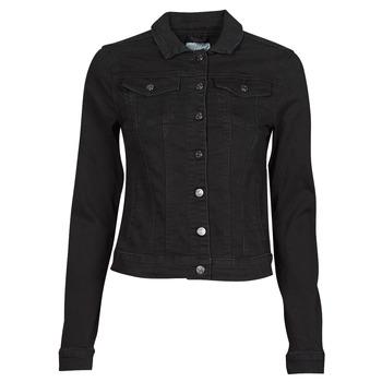 Abbigliamento Donna Giacche in jeans Vila VISHOW Nero