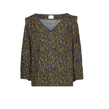 Abbigliamento Donna Top / Blusa Vila VIZUGI Nero / Giallo / Blu