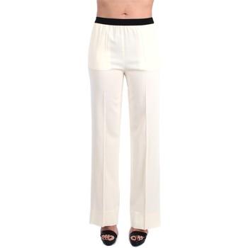 Abbigliamento Donna Pantaloni morbidi / Pantaloni alla zuava Jucca J3314105 A Palazzo Donna Panna Panna