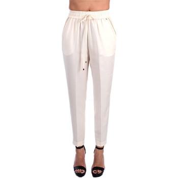Abbigliamento Donna Pantaloni da completo Kocca BIEM Classici Donna Avorio Avorio