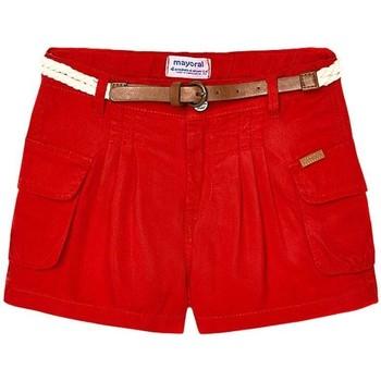 Abbigliamento Bambina Shorts / Bermuda Mayoral  Rojo