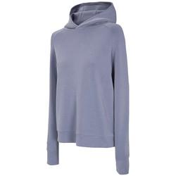 Abbigliamento Donna Giacche sportive 4F Women's Hoodie Bleu