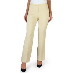 Abbigliamento Donna Pantaloni Fontana - brenda Giallo