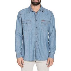 Abbigliamento Uomo Camicie maniche lunghe Carrera - 205-1005A Blu