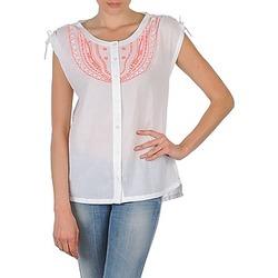 Abbigliamento Donna Camicie maniche corte Antik Batik AYLA Bianco