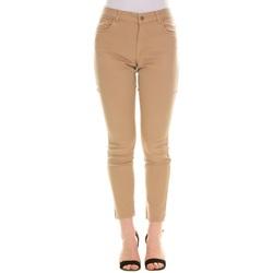 Abbigliamento Donna Chino Emme Marella 51310215200 - 002 BEIGE Bianco
