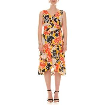 Abbigliamento Donna Abiti lunghi Emme Marella 52211514200 - 007 GIALLO Multicolore