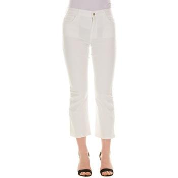 Abbigliamento Donna Jeans 3/4 & 7/8 Emme Marella 51310115200 - 001 BIANCO Bianco