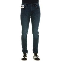 Abbigliamento Uomo Jeans slim Selected 16075434 - Medium Blue Denim Blu