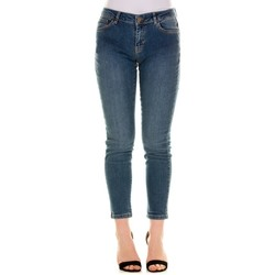 Abbigliamento Donna Jeans slim Emme Marella 51810615200 - 002 BLU SABBIATO Blu