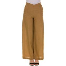 Abbigliamento Donna Pantaloni morbidi / Pantaloni alla zuava Emme Marella 51310814200 - 005 BEIGE Bianco