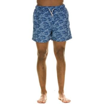Abbigliamento Uomo Costume / Bermuda da spiaggia Selected 16067678 - ESTATE BLUE/FISH Blu
