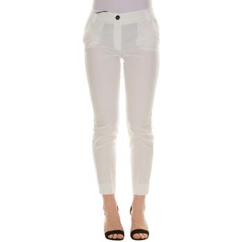 Abbigliamento Donna Chino Emme Marella 51310214200 - 001 BIANCO Bianco