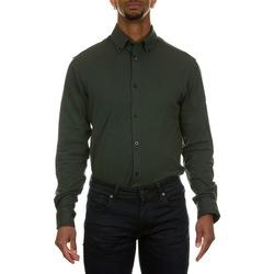 Abbigliamento Uomo Camicie maniche lunghe Selected 16077195 - DARKEST SPRUCE Verde