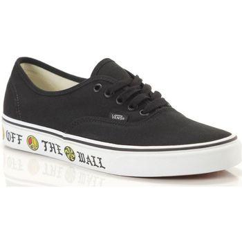 Scarpe Uomo Sneakers basse Vans Ua Authentic Sidewall Nero