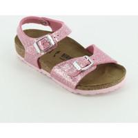 Scarpe Bambina Sandali Birkenstock 1018991 Rio Candy glitter Rosa