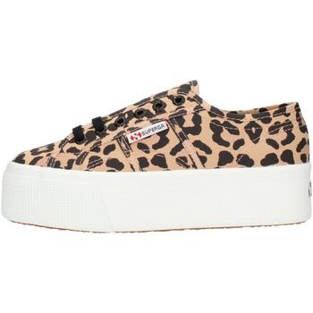Scarpe Donna Sneakers alte Superga S11317W Leopardate