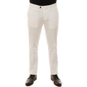 Abbigliamento Uomo Chino Canali 93630-PT00943003 Bianco