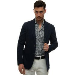 Abbigliamento Uomo Giacche / Blazer Canali J0147-JJ01974302 Blu