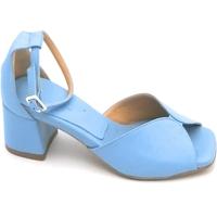 Scarpe Donna Sandali Oroscuro Bella Azzurro
