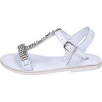 Scarpe Bambina Sandali Joli BH01 Bianco