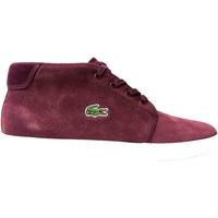 Scarpe Uomo Sneakers alte Lacoste ATRMPN-27006 Rosso